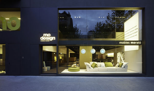 on dise o proyectos tienda de muebles en vilafranca del ForMorato Vilafranca