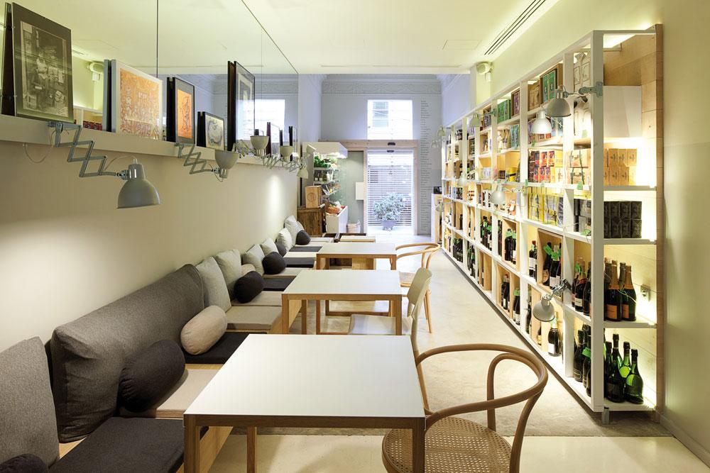 On dise o proyectos restaurante en barcelona for Diseno de restaurantes