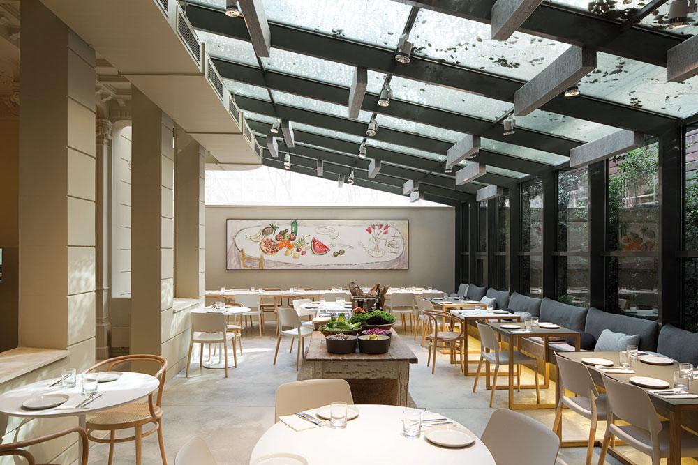On dise o proyectos restaurante en barcelona for Oficinas grupo tragaluz